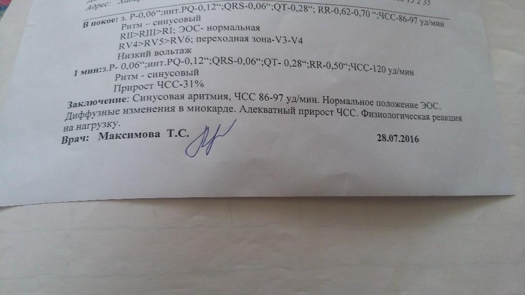 Заключение ЭКГ - Терапия - 11.10.2021 - Здоровье Mail.ru