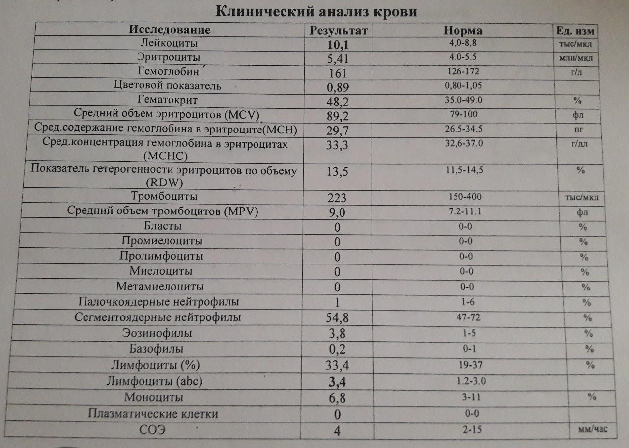 Детей сегментоядерные клинический крови норма анализ у и ребенка диабет общий крови анализ