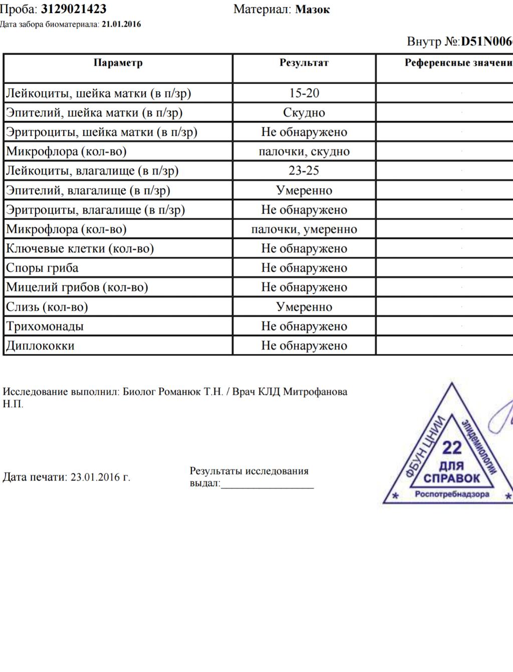 Молчанова Елена Викторовна  Гинеколог  03 Онлайн