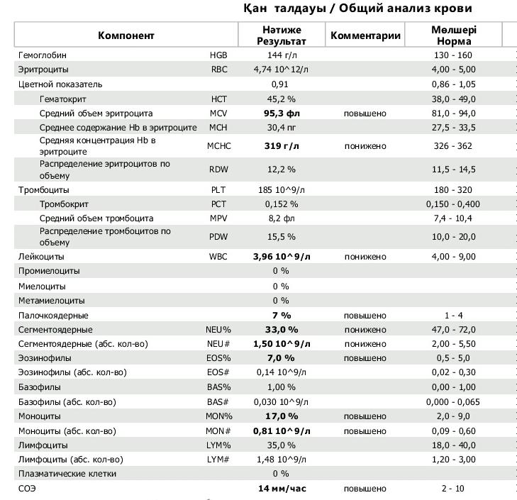 Норма эритроцитов у беременных 43