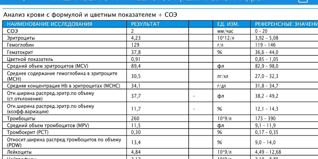 Норма таблице крови в в анализе pdw у мужчин анализ ггт крови повышен