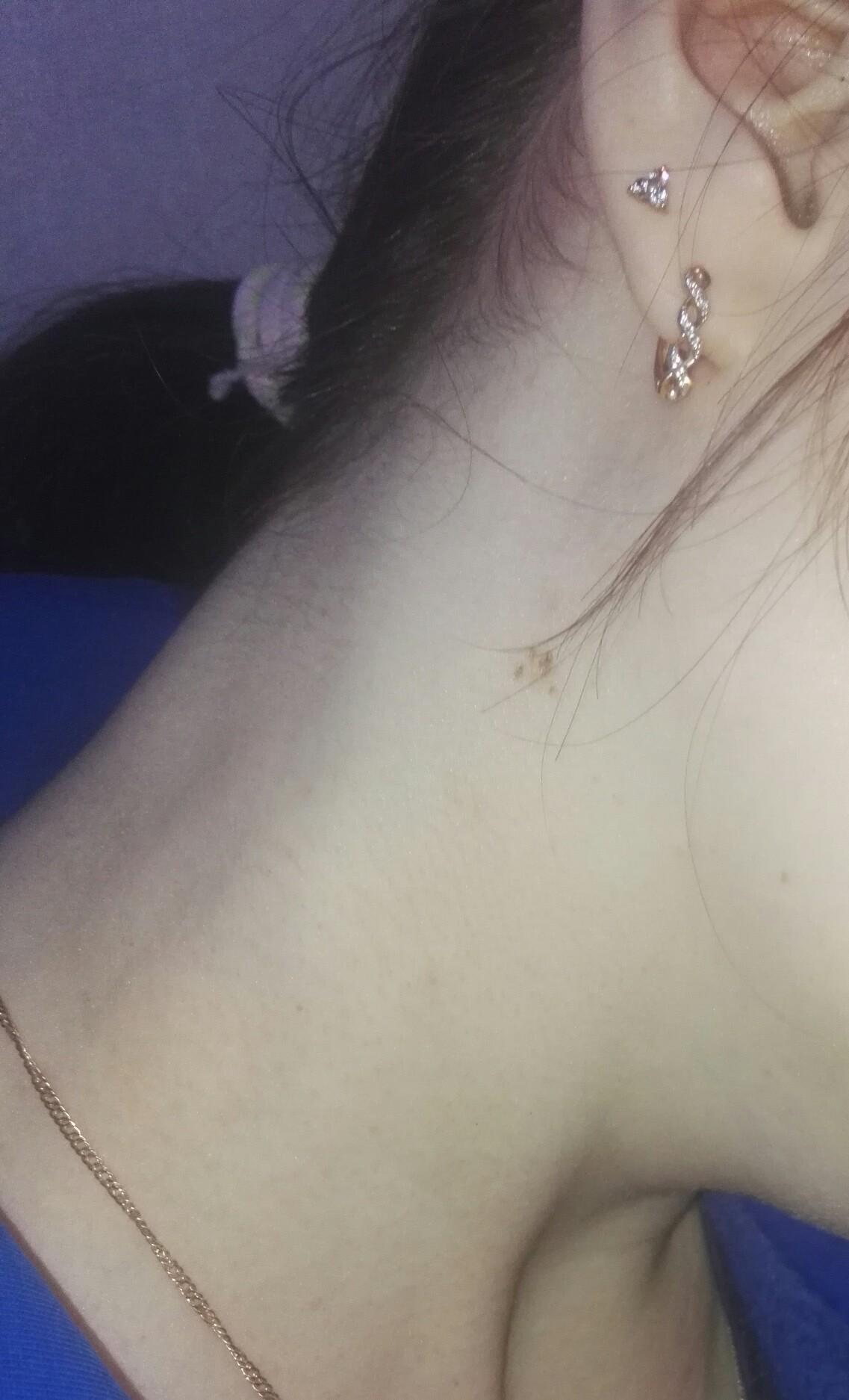 ногти розовые в горошек фото